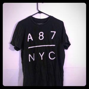 Aeropostale NYC Black shirt